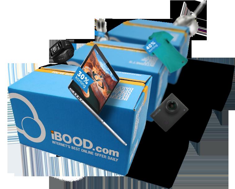 iBOOD boxes